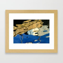 Water Painting Framed Art Print