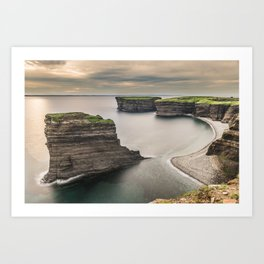 The mystery coast. Art Print