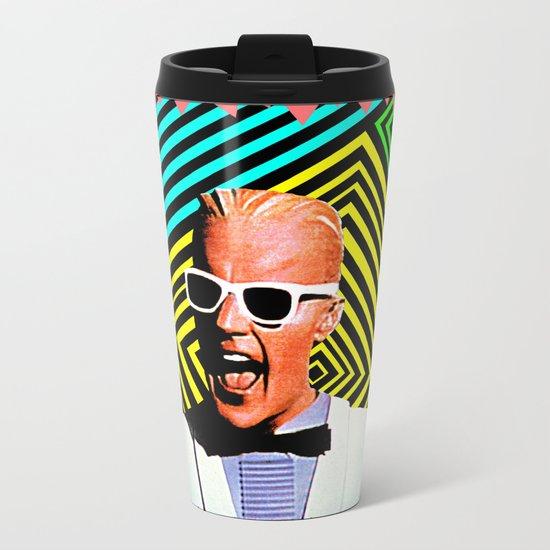 MAX HEADROOM  |  80's Inspiration Metal Travel Mug