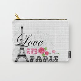 Love in Paris Carry-All Pouch