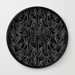 CHANGE #3 #drawing #pattern #decor #art #society6 Wall Clock