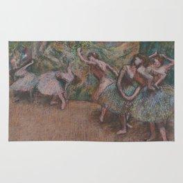 Edgar Degas - Ballet Scene Rug