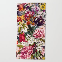 Exotic Garden - Summer Beach Towel