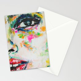 I Think it is Going to Rain Today Stationery Cards