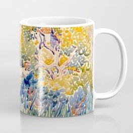 """Henri-Edmond Cross """"The Artist's Garden at St. Clair"""" Coffee Mug"""