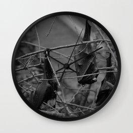 Dark Bat Laughs Wall Clock