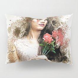 woman Pillow Sham