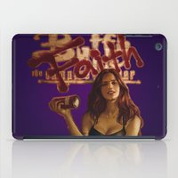 buffy the vampire slayer iPad Cases featuring Faith the Vampire Slayer (Comic cover) by lanabeebear