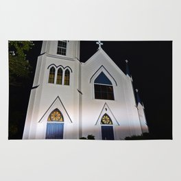 Church under the Lights Rug