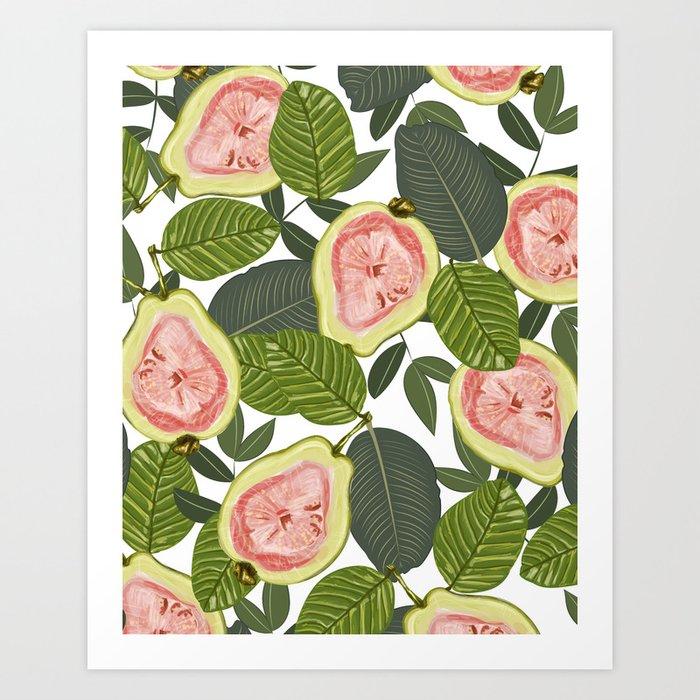 Guava #society6 #decor #buyart Art Print