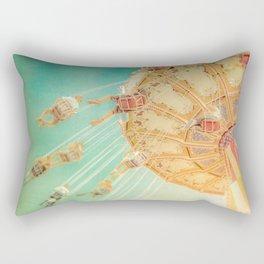 Around We Go Rectangular Pillow