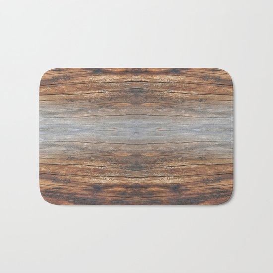 wood 4a Bath Mat