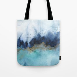 Mystic abstract watercolor Tote Bag