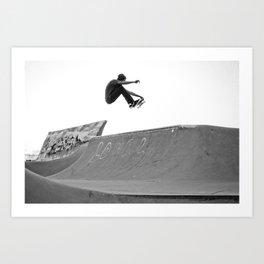 Andrae - Frontside Air  Art Print