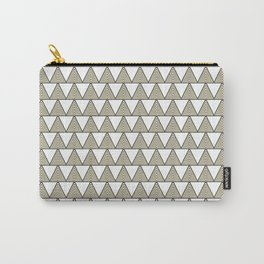 Audrey and Frank - Modern Envelopes Mini (Neutral) Carry-All Pouch
