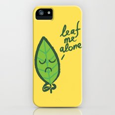 The introvert leaf Slim Case iPhone (5, 5s)