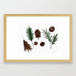 Wood treasure Framed Art Print