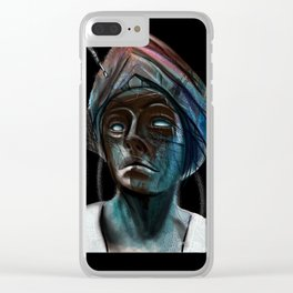 Lady Decco Clear iPhone Case