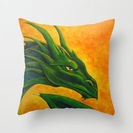 Sovereign Dragon Throw Pillow