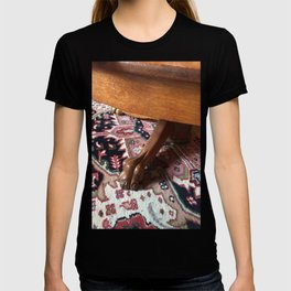 Claw Foot Table on Wool Rug T-shirt