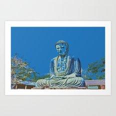Daibutsu Art Print