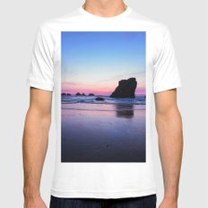 Serenity Mens Fitted Tee White MEDIUM
