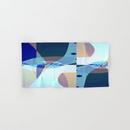 Abstract Fractal Art - Quistere- Cubism- Picasso Art Hand & Bath Towel