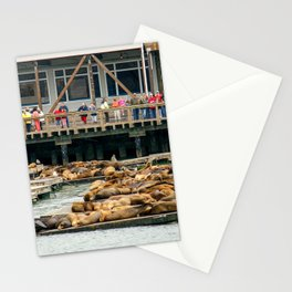 Pier 39, San Francisco Harbor Stationery Cards