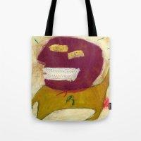 hero Tote Bags featuring Hero by Sasa Jantolek