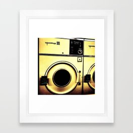 wash me Framed Art Print