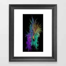 It's A Jungle In There Framed Art Print