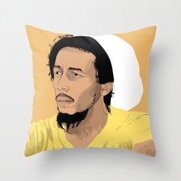 R N Marley Throw Pillow