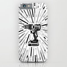 Art Power Tools Drill Bit Set Doodle Slim Case iPhone 6s