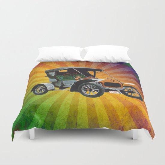 Vintage Car 05 Duvet Cover