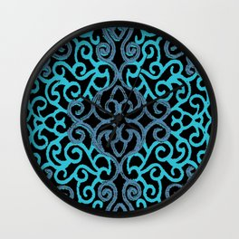 celtic blue Wall Clock