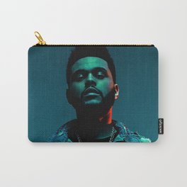 Portrait of the.Weeknd Carry-All Pouch