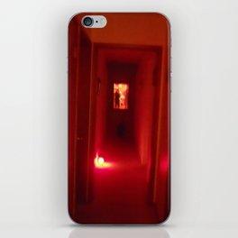 Hallway to hell iPhone Skin