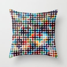 Rope Geometric Art Print. Throw Pillow