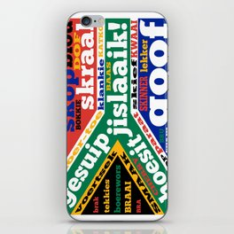 South African slang and colloquialisms iPhone Skin