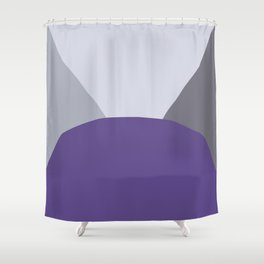 DeYoung Ultra Violet Shower Curtain