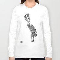 diver Long Sleeve T-shirts featuring Diver by Hinterlund