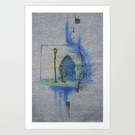 Mystery and Adventure Art Print