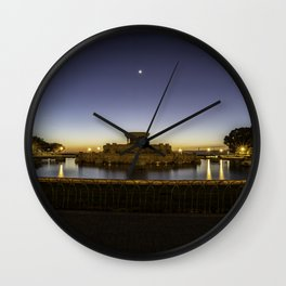 Chicago's Buckingham Fountain at dawn Wall Clock
