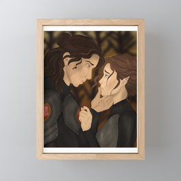 Nesta and Cassian Framed Mini Art Print
