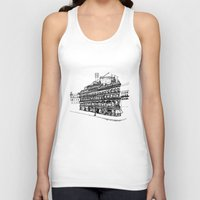 victorian Tank Tops featuring Victorian Building by CRNS