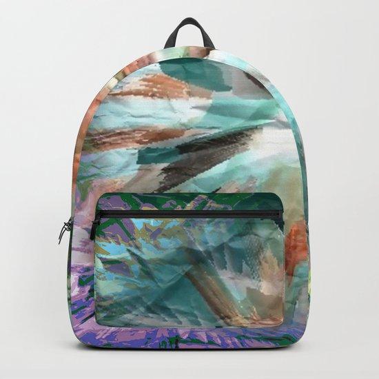 Paper Teal Splash Backpack