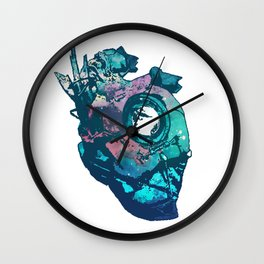 Dishonored - The Heart (Blue) Wall Clock