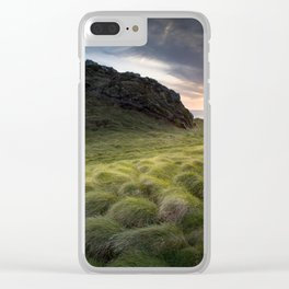 Seagrass Clear iPhone Case