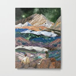 Infinite mountains Metal Print