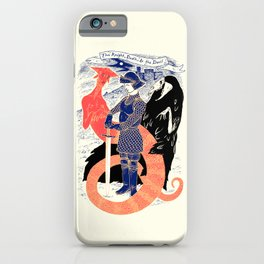 The Knight, Death, & the Devil iPhone Case